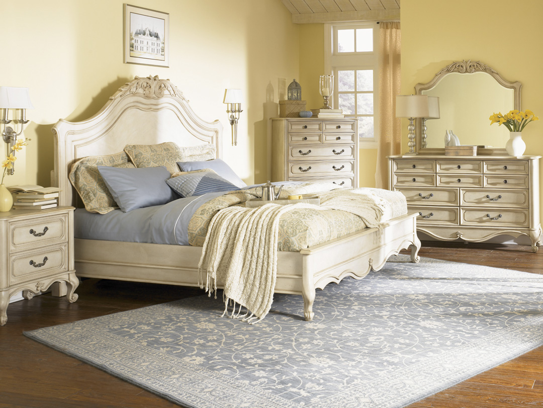 Antique White Bedroom Furniture - Home Interior Design 2016