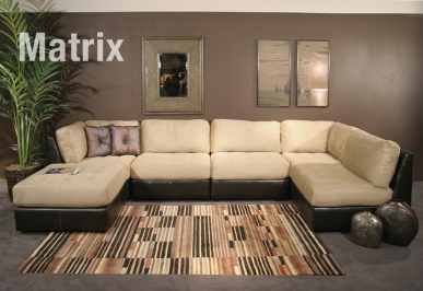 Matrix Sectional by GuildCraft