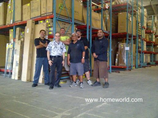 Our HomeWorld Maui Warehouse