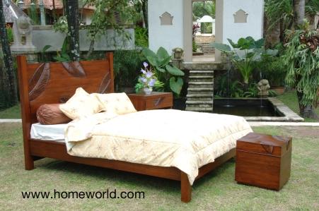 Leaf Platform Bed