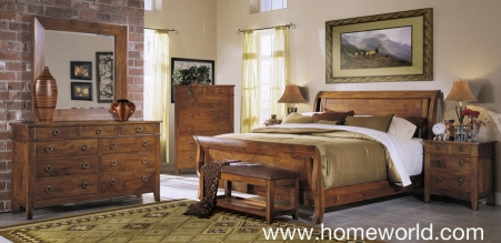 Urban Craftsman Bedroom by Klaussner