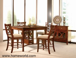 Orion Pub Table and Barstools