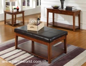 Davis coffee table is a triple agent.