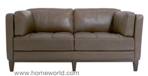"The Urban Loveseat is low-profile and is 65.5"" wide."