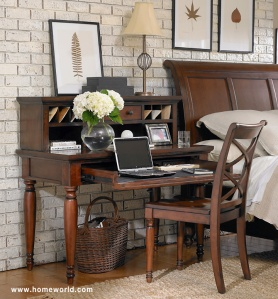 Cambridge Desk by Aspen Home