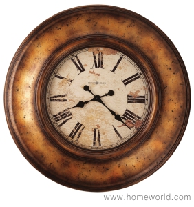 """Copper Bay Wall Clock by Howard Miller 29.5"""" round"""