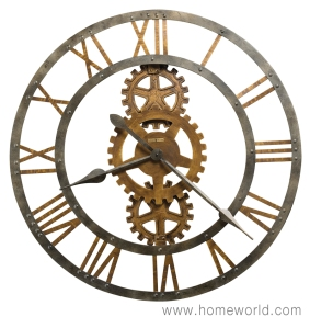 """Crosby Wall Clock by Howard Miller Oversized. 30"""" round"""
