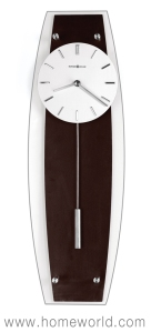 """Cyrus Wall Clock by Howard Miller 23"""" in height"""