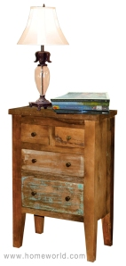 "Mother Nature Chottu Tall Chest is functional and charming in any room. 24""x13""x36""h."