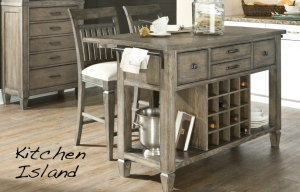 Brownstone Village Kitchen Island detail