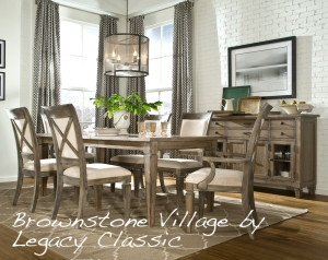 Brownstone Village Dining by Legacy Classic