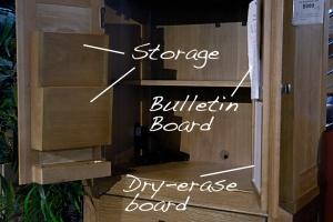 Brownstone Village Pantry Cabinet