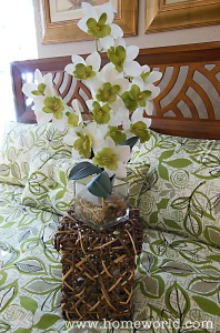 A basket with flowers or plants make great gifts.