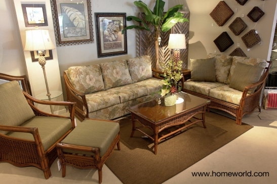 The Jamaica Breeze Rattan Living Room by Veranda