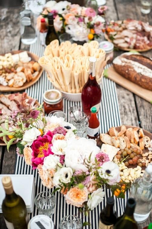 table runner & setting