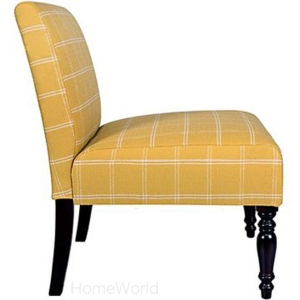 Bradstreet chair in yellow by Angelo:HOME at HomeWorld.