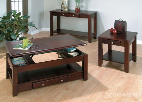 Secrets Lift-top coffee table.