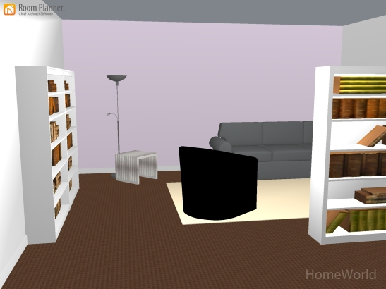 Room planning app helped to design a doctor's office. Photo courtesy of Charlyn Bookhart.