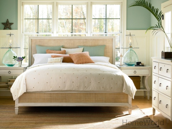 Waking up to Summer Hill by Universal Furniture feels like  summer last all year round. At HomeWorld.