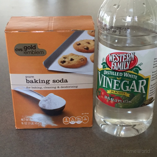 baking soda and vinegar many uses for household cleaning