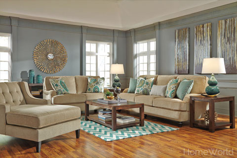Lochian living room collection at HomeWorld