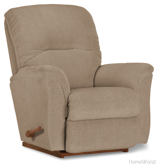 Easily appealing because of its neutral and transitional style, the Gabe rocker recliner offers generous seating for daily enjoyment.