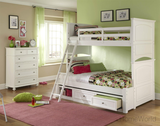 Madison Twin over full bunkbed by Legacy