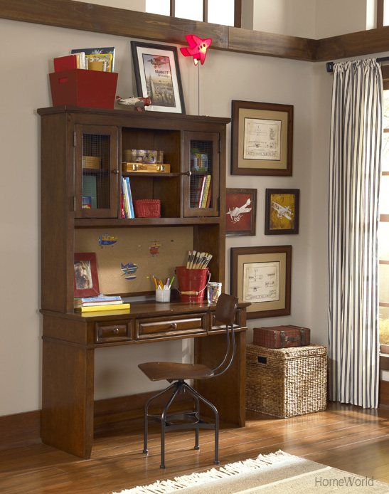 Dawson's Ridge Desk & Hutch by Legacy Classic